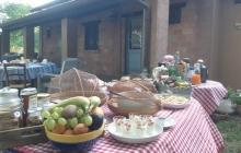 Colazione in giardino / Breakfast in the garden